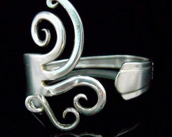 Silver Fork Bracelet in Original Fancy Design Number Five