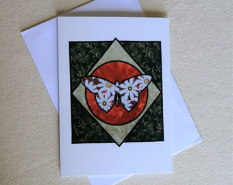 Daisy Butterfly Greeting Card