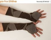 CRAZY SALE 30% OFF Patchwork  Arm Warmers - Pixie Armwarmers - Bohemian Accessories