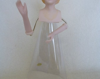 Plastic Angel Faux Porcelain Tree Topper Kit