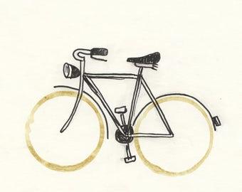 Illustration - Coffeedoodle No. 27 - Hollandrad
