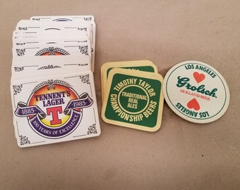Set of Assorted Bar/Drink Coasters