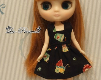 La-Princesa Japan Doll Dress for MiddleBlythe (No.MiddleBlythe-027)