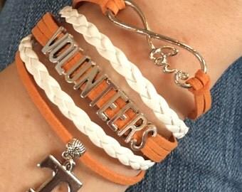 TN Volunteers Bracelet