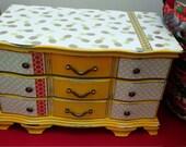 Shabby Chic Pineapple Extra Large Jewelry Box