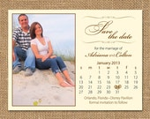 Save the Date Magnet Sample