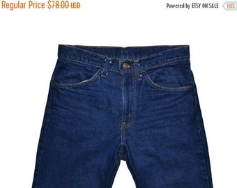 ON SALE Vintage Unisex 1986 LEVI'S Levis Straight Leg 519 Jeans Size 30x30 Made In Usa Orange Tag