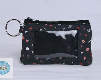 Captain America and Winter Soldier Inspired Mini ID Wallet - Stucky