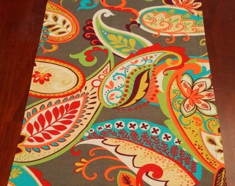 NEW Whimsy Paisley Table Runner Table Top Runner Wedding Table Runner All Sizes