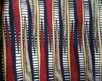 Dior Smart Vintage Silk Tie Christian red black