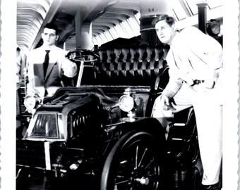 Vintage Photo - Men With Old Car - Vernacular, Found Photo, Ephemera (A)
