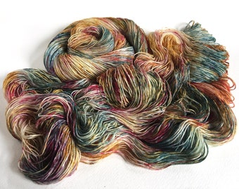 Sea Spiral Sock Yarn.  Storm Mermaids