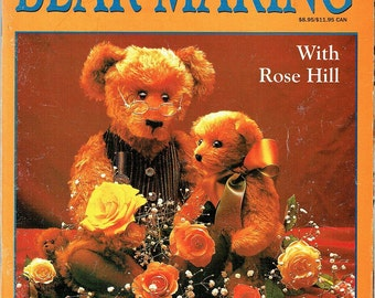 Teddy Bear Step-By-Step Guide to Making by Rose Hill - Teddy Bear Information - How To Make a Teddy Bears