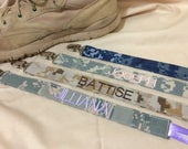 ONE Custom Personalized Universal Military Paci Clip - All Branches - Made to Order