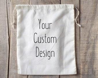 Custom Bag Design - Knitting Retreat - Party Bags - Bridesmaid Bags - Retreat Bags - Lego Bags - Sewing Bags