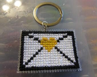 Mystic Messenger Themed Envelope Keychain