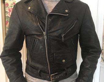 Vintage Cooper Motorcycle jacket mens small