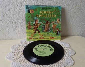 "Walt Disney See, Hear, Read Book and Record, ""The Story of Johnny Appleseed"""