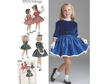 Simplicity Sewing Pattern 8306 A Child's Kid Girls' Dress and Jacket New UNCUT