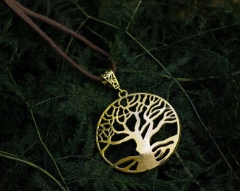 Tree of life Celtic necklace pendant nature elven nature jewelry