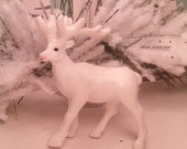 Miniature Plastic Moose Craft Supplies