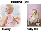 Haley Needs A Hug or Silly Me Ashton Drake Dolls Choose One