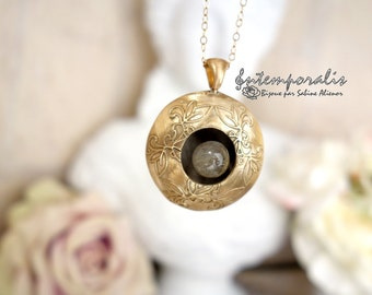 Bronze and labradorite perfume diffuser SADP05