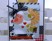Enjoy the Little Things All Occasion Greeting Card Polly's Paper Studio Handmade