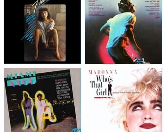80's Vinyl Soundtrack Lot