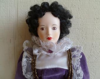 "Shakespear Porcelain ""Katharina"" Doll By Bertha Rogers"