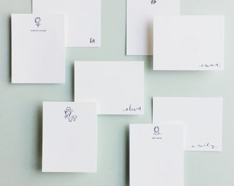 Letterpress-Custom Stationery Set