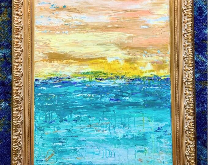 Radiant - Original Artwork Seascape on Canvas