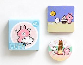46 Pcs Fashion Planner Stickers Decorative Stickers Die Cut Stickers