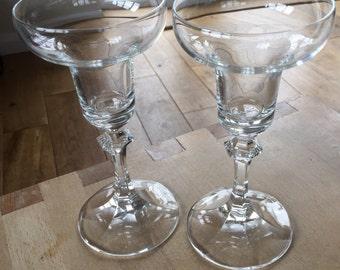 A pair of fine vintage crystal candlesticks- for Varina!