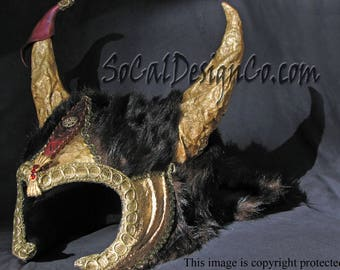 Cosplay Commission, Cosplay Helmet, Cosplay Horns, Custom Cosplay, Custom Headdress, Warrior Headdress, Cosplay Mask, Custom Horns, Helmet