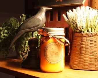 Harvest Thyme- Mason Jar Candle
