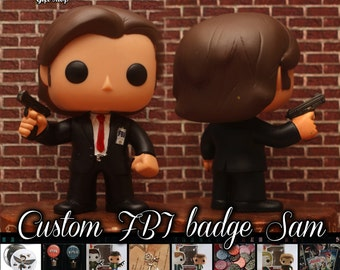 Supernatural FBI Sam Winchester - Custom Funko pop toy
