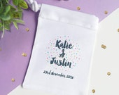 Confetti Wedding Ring Bag