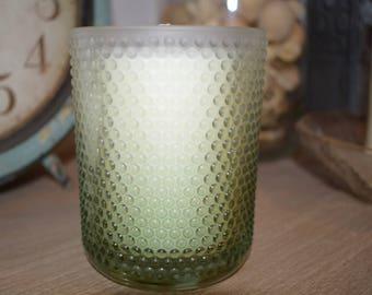 Coconut Lime Verbena 13 oz Hobnail Soy Candle