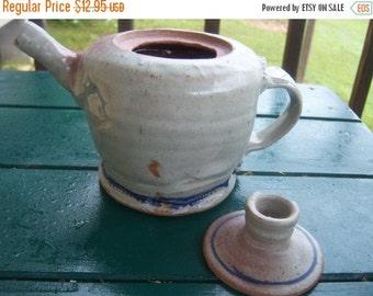 Vintage Handmade Pottery Teapot