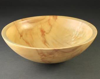 Figured Wooden Box Elder Bowl  #1484