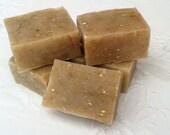 2 Goat's Milk Oatmeal Honey Sweet Orange Sandalwood & Cinnamon Soap Traditional Handmade Gift  UK seller