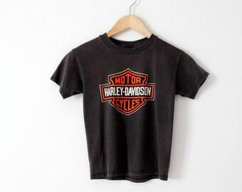vintage Harley Davidson t-shirt, Hawaii dealership tee, motorcycle t-shirt