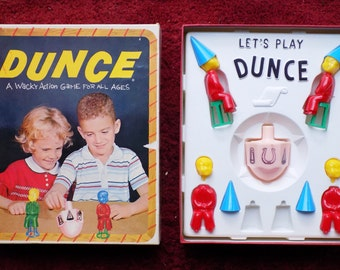 1955 DUNCE game for 2 or more by Shaper / Ghosts /