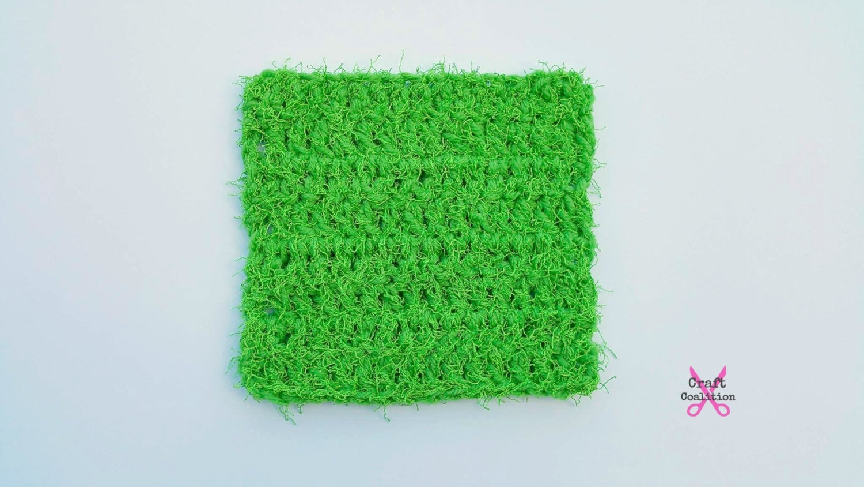 Crochet pattern scruffy square scrubber dish kitchen zoom bankloansurffo Gallery