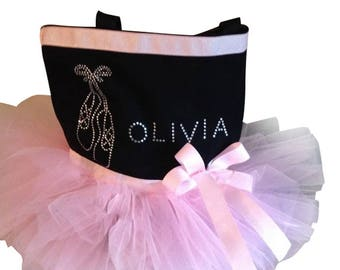 Light Pink Tutu Dance Bag-Light Pink- Tutu Dance Bag- Dance-Birthday-Christmas Gift