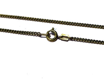 Antique Am Double Gold Filled 2 MM Chain 23-1/2 inches long J0021