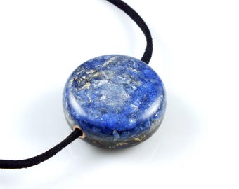 Large Orgone Focal Bead. Positive Energy with Arkansas Crystals, Petalite, Phenacite, Elite Shungite, Tourmaline, Selenite (a15)