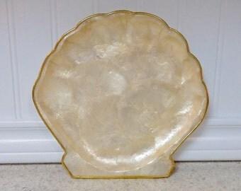 Capiz Shell Dish