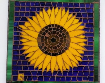 Sunflower Mosaic Trivet